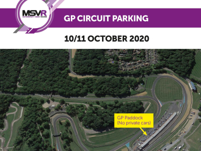 Parking for Private Cars at Brands Hatch GP Round