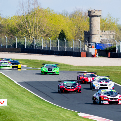 First of two, the GT Cup is off to Donington Park
