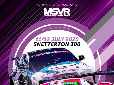 Event Programme Snetterton 300 11-12 July 2020