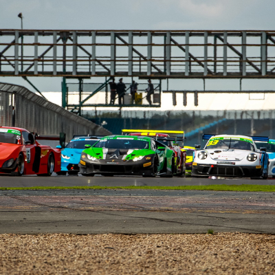 Rain threatens as the GT Cup heads to Silverstone