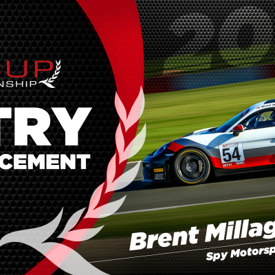 Brent Millage returns for his third full season of GT Cup