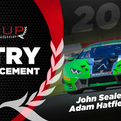GT Cup welcomes back John Seale for a second full season in 2020.
