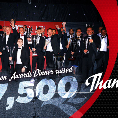£17,500 raised for charity at GT Cup Championship Award Dinner
