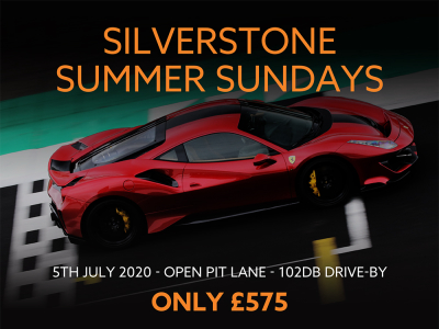 W2R Silverstone GP Track Day - 5th July - Discount for GT Cup Competitors