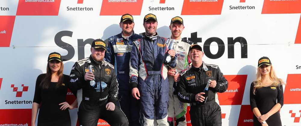 Huggins takes GTB championship in style at spectacular Snetterton season finale