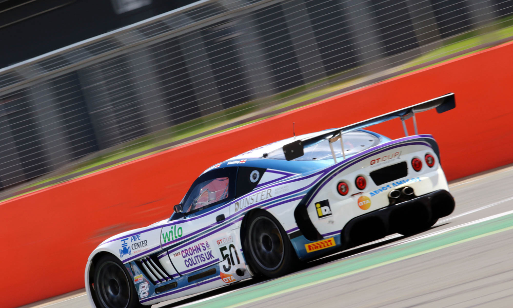 GT Cup regular raising funds for charity on Beaujolais Run