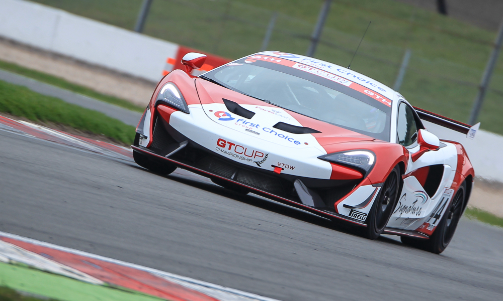 Ruston and Whitehouse back with brand new McLaren